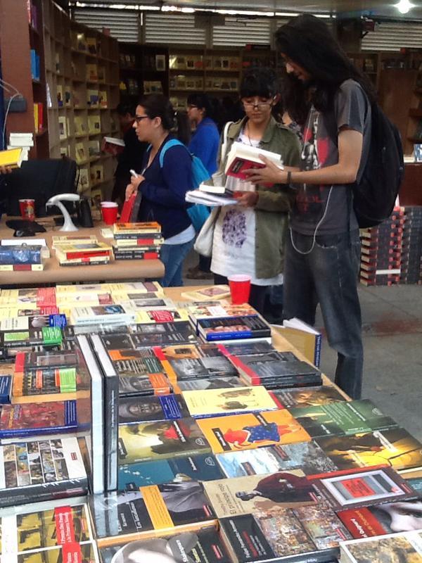 Librería Colofón en Coyoacán.
